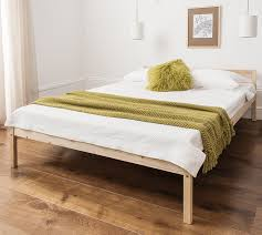 Double Bed by Double Bed Pine 4 U00276 Double Bed Wooden Frame Sussex Amazon Co Uk