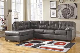 Laf Sofa Sectional Alliston Durablend Gray 2 Pc Laf Chaise Sectional Leather
