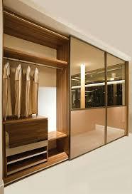 Bedroom Wardrobe Latest Designs by Almirah Designs From Inside Mirror Door Full Wall Wooden Wardrobe