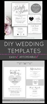 diy wedding invitation template diy wedding invitations printable wedding invitations wedding