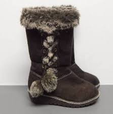 s suede boots size 9 gymboree s winter cheer brown suede boots size 9 furn trim