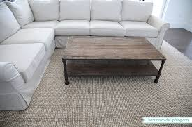 Pottery Barn Wool Jute Rug Reader Favorites The Side Up