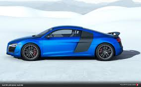 car picker blue audi r8