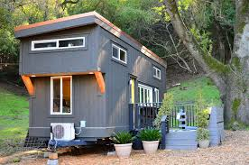 tiny cabin on wheels tiny house on wheels with indoor outdoor entertaining spaces