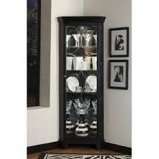 white tall corner cabinet wayfair