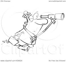 Seeking Clip Royalty Free Rf Clip Illustration Of A Black And