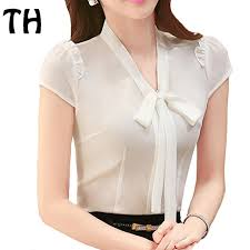 formal blouse 2016 summer ol work chiffon shirt office formal blouse