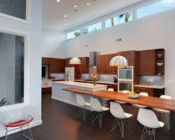 kitchen island table integrated dining table with interesting dining table kitchen