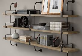 Wall Brackets For Shelving by Wood Wall Shelving Closet Wrought Iron Shelves Word Separator