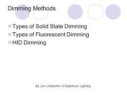 Spectrum Lighting By Jon Limbacher Of Spectrum Lighting Ppt Video Online Download