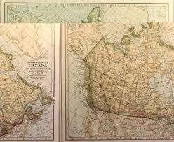map of ne usa and canada andree map of the northeast usa and canada 1903