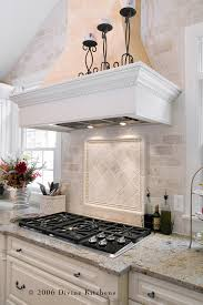 Stone Subway Tile Backsplash Tumbled Marble Backsplash Is - Marble backsplashes