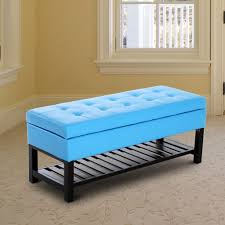 hom modern small faux leather ottoman footrest picture with