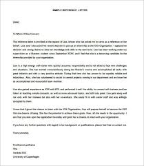 reference letter for employment recommendation templatezet