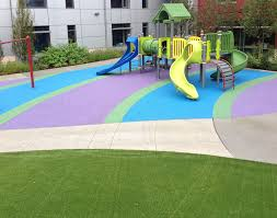 playbound poured in place rubber playground surface surface america