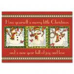 kraft stamped snowflakes standard christmas cards current catalog