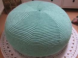 how to make a knitted pouf ottoman ebay