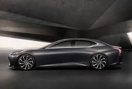 lexus ls sedan lexus lf fc luxury sedan coming before 2020