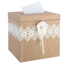 vintage card boxes rustic wedding card boxes