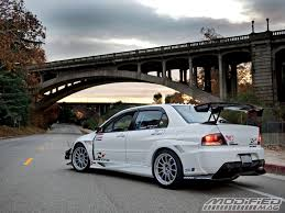 mitsubishi evo modded 2006 lancer evolution mr jovito la victoria modified magazine