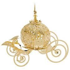 cinderella coach ornament by baldwin ornaments disney s