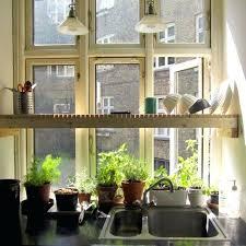 kitchen garden window ideas best garden window plants