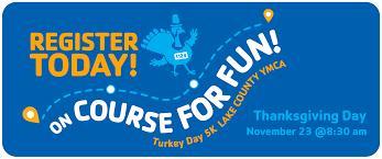 turkey day 5k lake county ymca