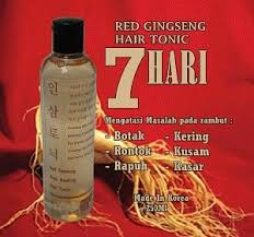 Masker Rambut Ginseng tonik rambut ginseng merah blanjapedia