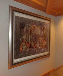 stunning hand woven turkish rug the art of framing preservation