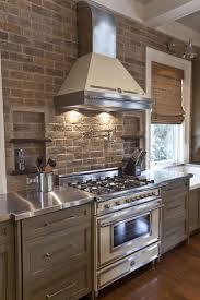 Brick Kitchen Ideas 35 Best Gray Kitchens Images On Pinterest Gray Kitchens Kitchen
