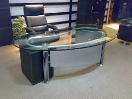 Office Glass Desk Prepossessing 80 Glass Office Tables Design Ideas Of Office Desks