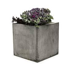 large concrete planter concrete planters amazon com