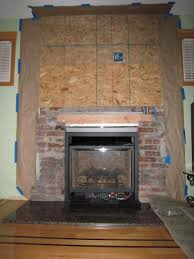 Fireplace Cover Up Converting Wood Burning Fireplace To Gas
