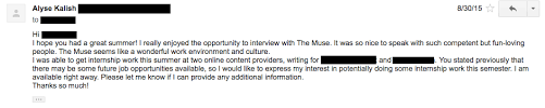 how i got a job after being rejected the muse