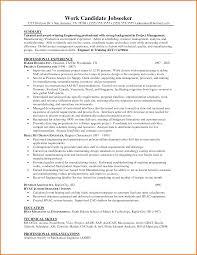 Mechanical Engineer Resume Samples Experienced by Experience Experienced Engineer Resume