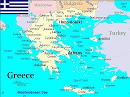 greece map political maps of greece