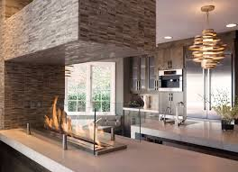 kitchen fireplace design ideas 40 fireplace ideas for a cool space http freshome