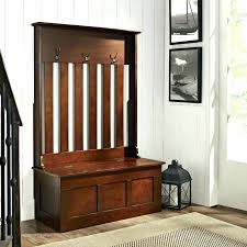 entryway coat rack bench with storage telstra ussolid wood hall