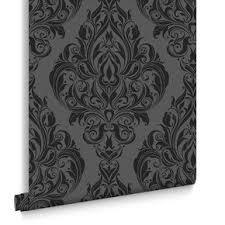 dark vintage wallpaper black wallpaper plain patterned wallpaper dark