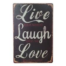 Love Home Decor Sign by Online Get Cheap Live Plaque Aliexpress Com Alibaba Group