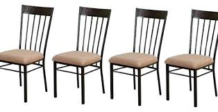Set Of Four Dining Chairs Sophisticated Set Of Four Dining Chairs Solid Wood Table For