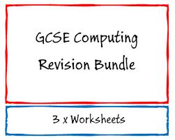 gcse computing computer science revision worksheet ocr a451