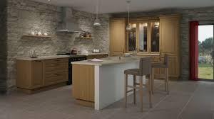 des cuisines en bois peinture pour meuble de cuisine en chene inspirant meuble cuisine