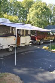 Pop Up Camper Awning Repair New Awning