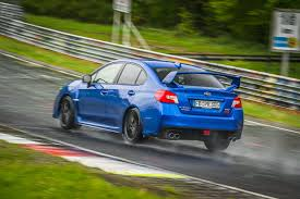 fastest subaru breaking records at the u0027ring subaru steps it up with a wrx sti