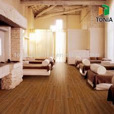 150x600 teakwood inkjet wood plank look wood texture floor tiles