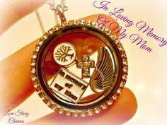 in loving memory lockets rip in loving memory of my glass heart floating charm locket