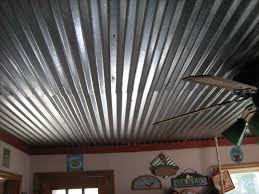 How To Put Up Tin Ceiling Tiles by Corrugated Metal Ceilings Re Corrugated Metal Ceiling For The