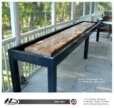 hudson metro shuffleboard table