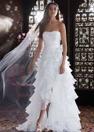 high low ruffle wedding dress 394 best wedding dresses veils and accessories images on